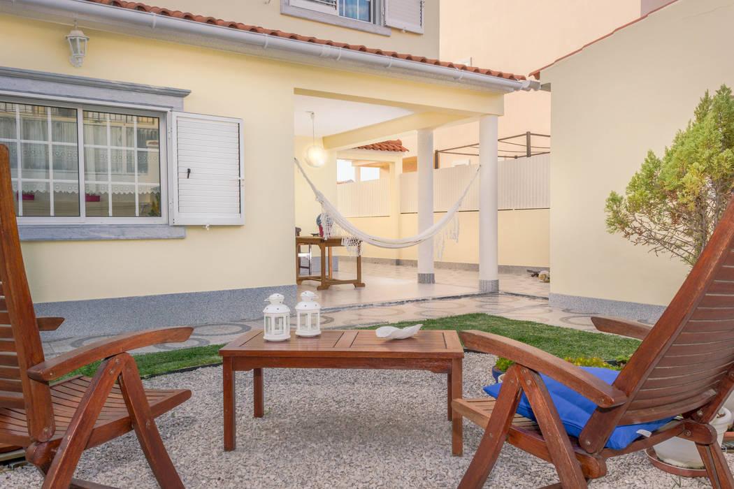 Śródziemnomorski ogród od Pedro Brás - Fotógrafo de Interiores e Arquitectura | Hotelaria | Alojamento Local | Imobiliárias Śródziemnomorski