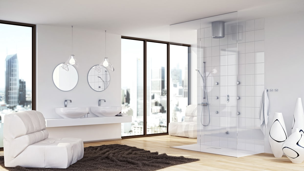 de style  par Jung Pumpen GmbH, Moderne Tuiles