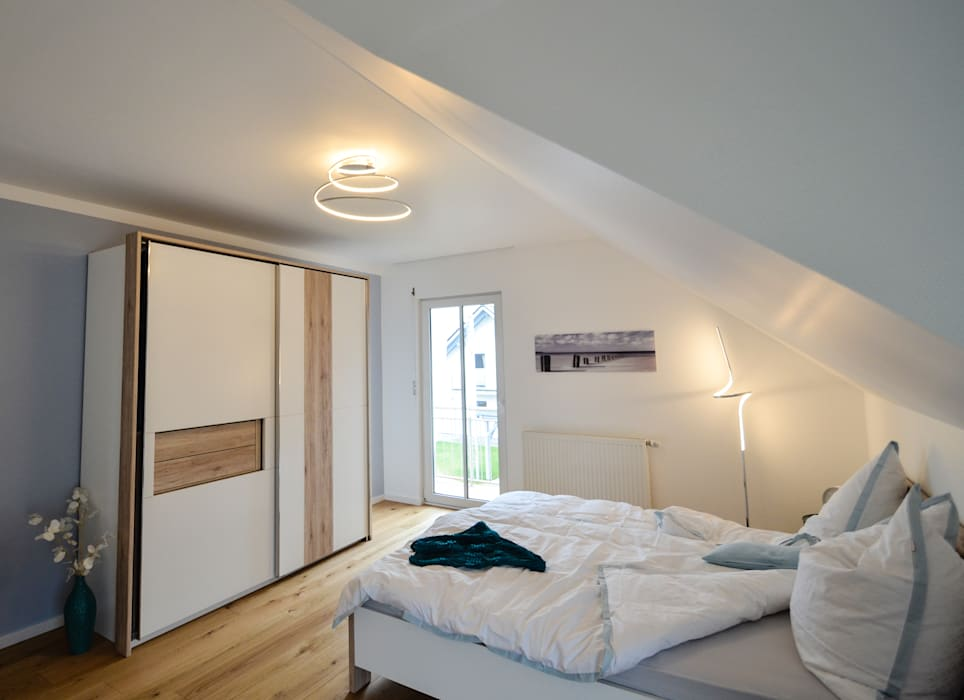 projekty sypialnia zaprojektowane przez licht design skapetze gmbh co kg homify. Black Bedroom Furniture Sets. Home Design Ideas