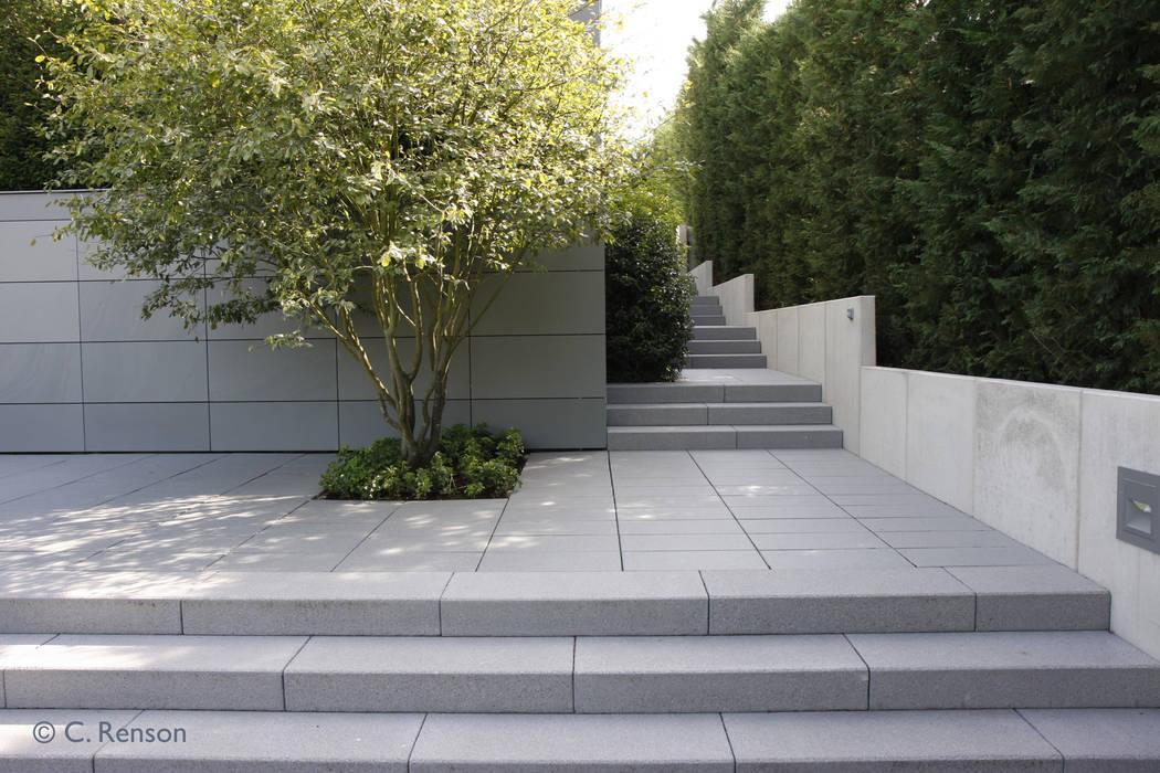 Detail im minimalistischen Familiengarten:  Garten von dirlenbach - garten mit stil