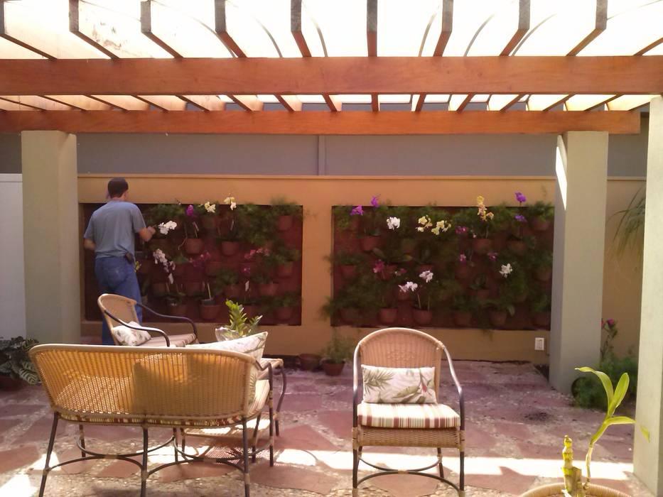 Projeto Paisagismo Jardins tropicais por Borges Arquitetura & Paisagismo Tropical