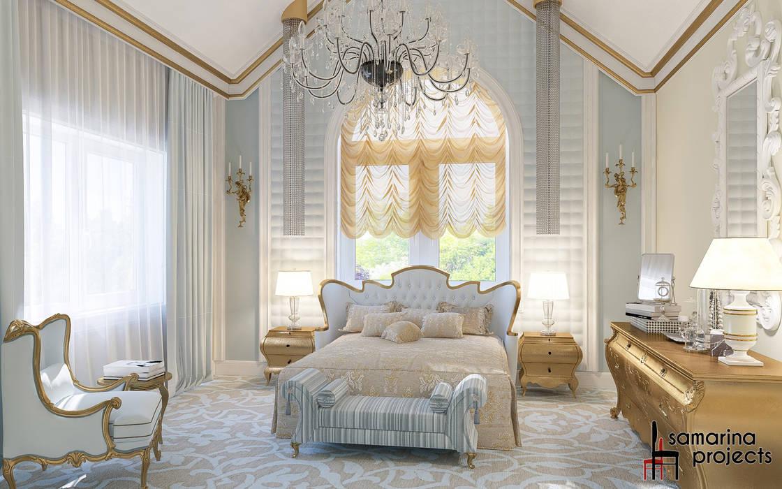 클래식스타일 침실 by Samarina projects 클래식
