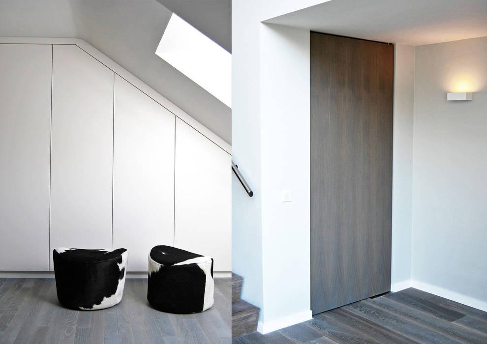 villa waalwijk minimalistische kleedkamer door ecker keukens en interieur