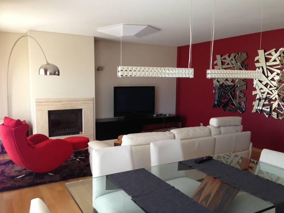 Sala de Estar Salas de estar modernas por Favos Comércio de móveis e artigos para decoração lda. Moderno