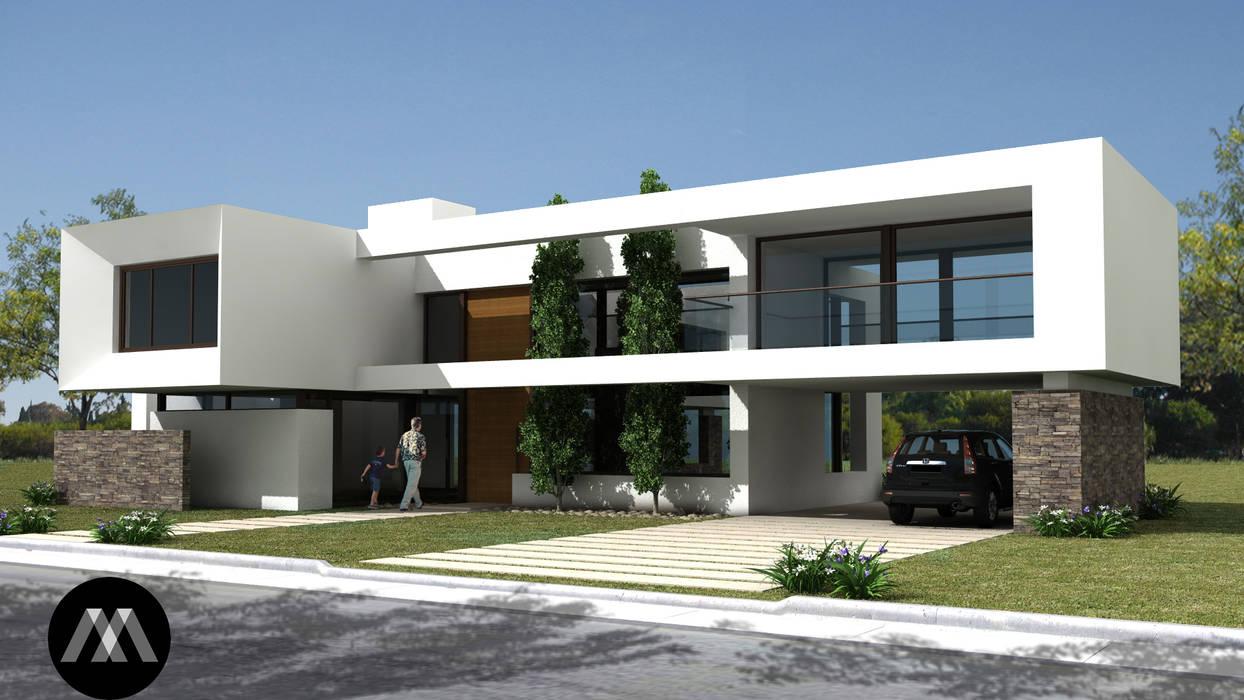094ROM: Casas de estilo minimalista por JAMStudio