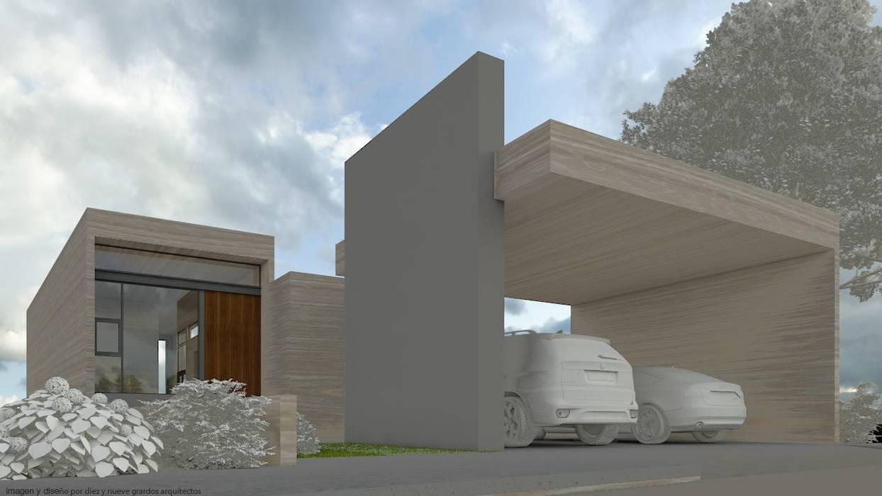 Fachada principal de Diez y Nueve Grados Arquitectos