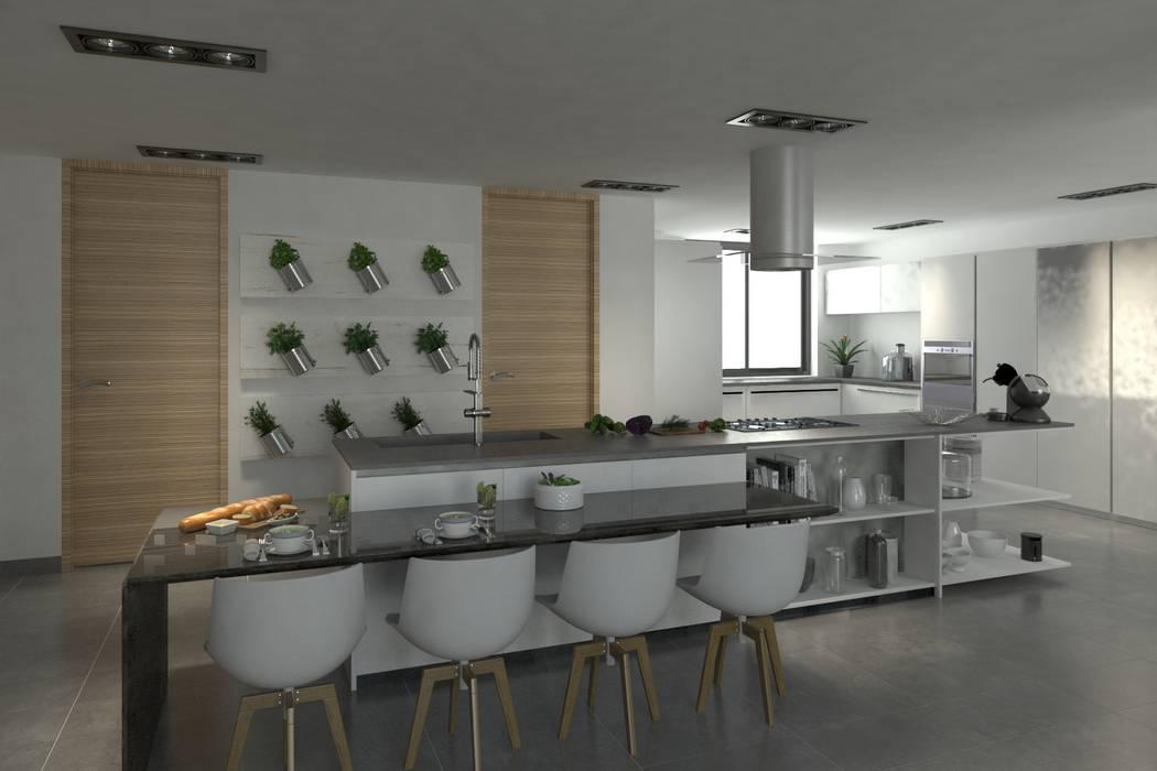 Cocina: Cocinas de estilo  por Area5 arquitectura SAS, Moderno
