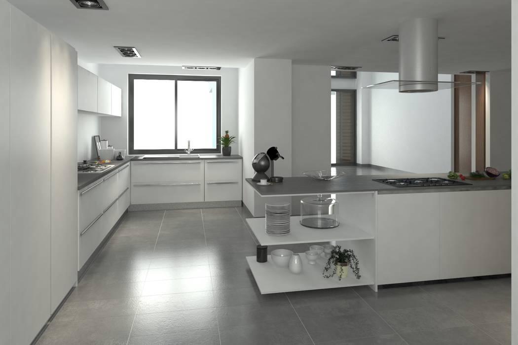 Cocina Cocinas modernas de Area5 arquitectura SAS Moderno