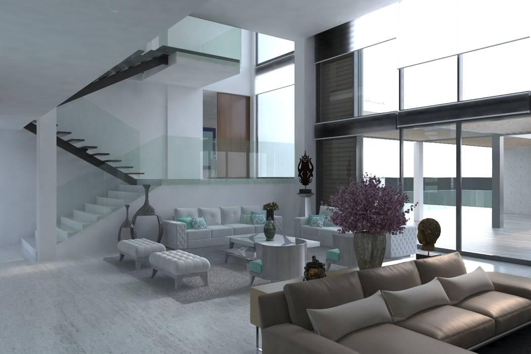 Sala Salas modernas de Area5 arquitectura SAS Moderno