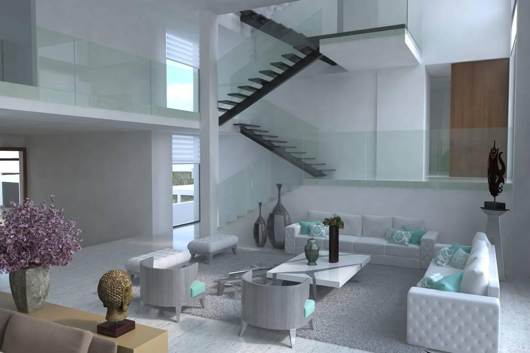 Sala: Salas de estilo  por Area5 arquitectura SAS, Moderno
