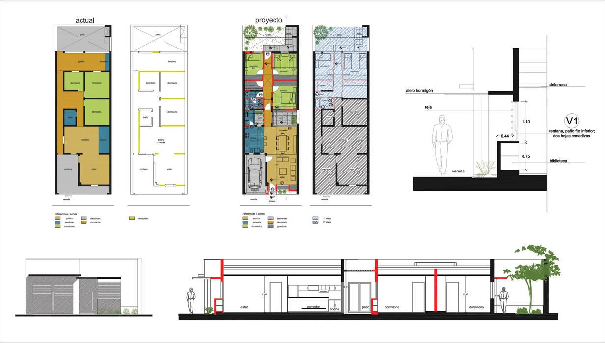 Modern houses by D&D Arquitectura Modern