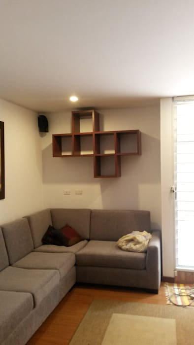 LABORATO ARQUITECTURA & DISEÑO Sala multimedialeAccessori & Decorazioni Effetto legno