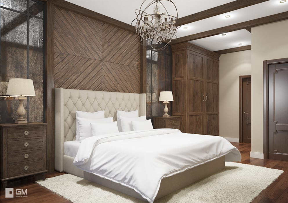 Camera Da Letto Stile Country : Camera da letto in stile in stile country di gm interior homify
