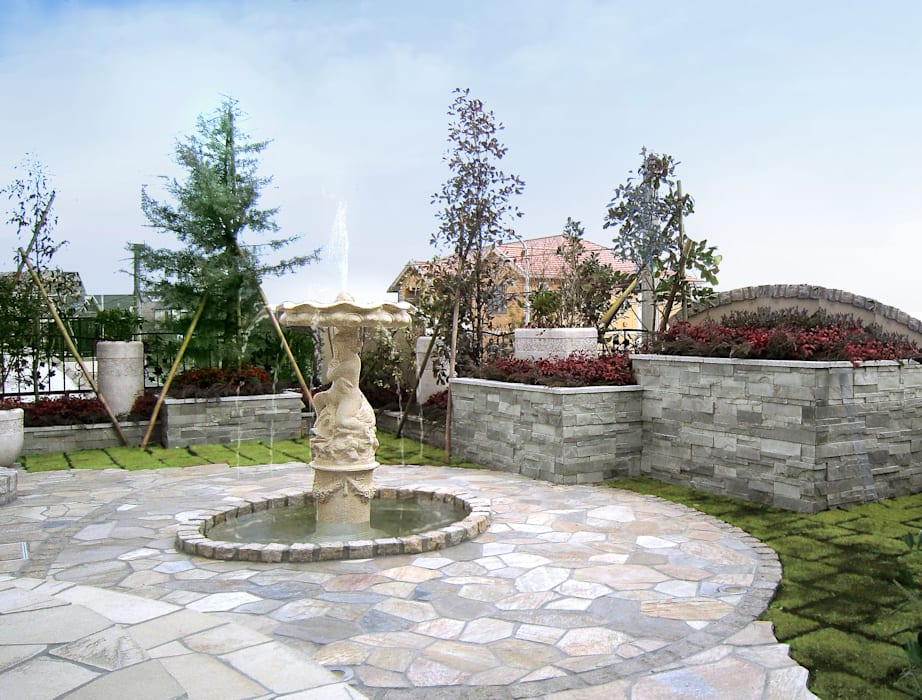 株式会社日本造園 Giardino moderno