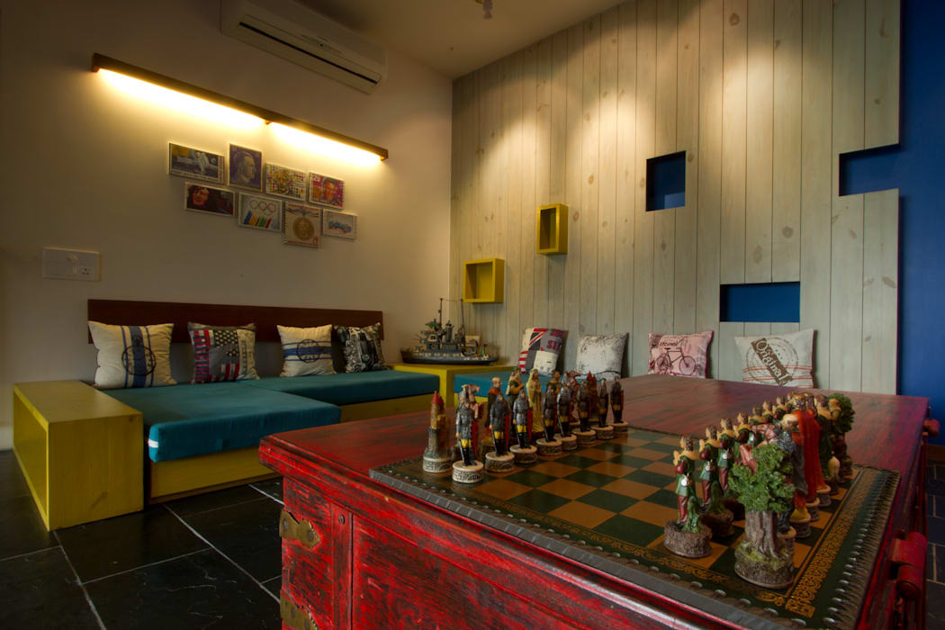 internal lounge Classic style media room by U design studio Classic