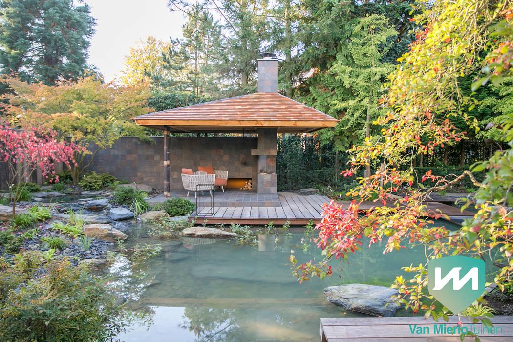 Jardines de estilo  de Van Mierlo Tuinen   Exclusieve Tuinontwerpen, Asiático