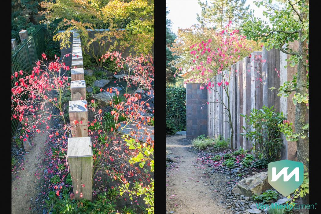 Jardines de estilo  de Van Mierlo Tuinen | Exclusieve Tuinontwerpen, Asiático