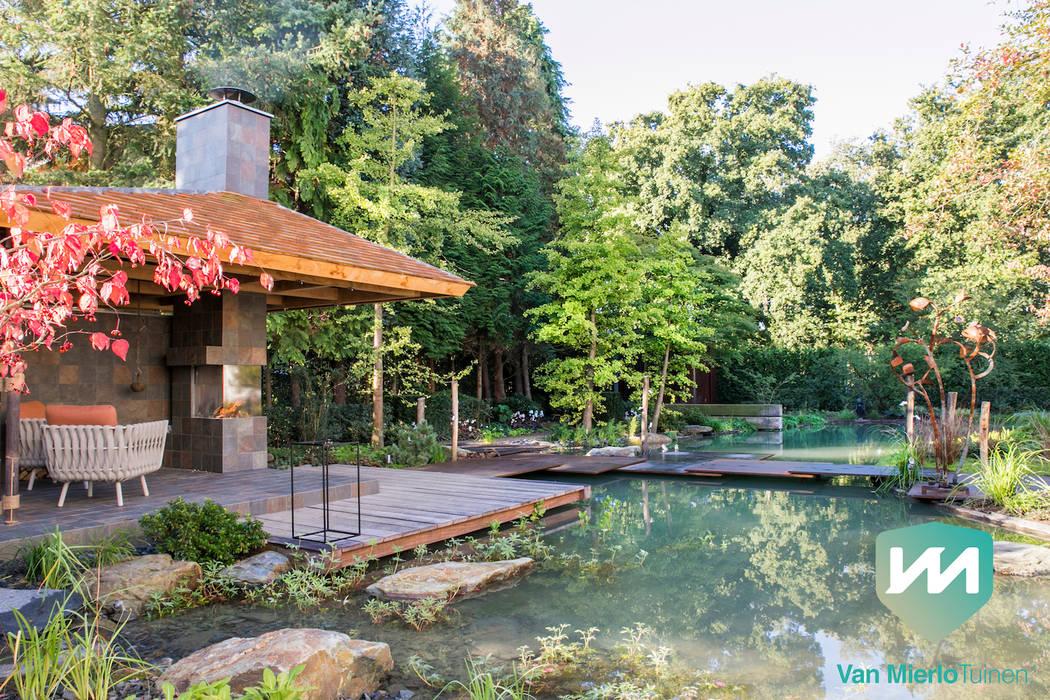 Jardines de estilo asiático de Van Mierlo Tuinen | Exclusieve Tuinontwerpen Asiático