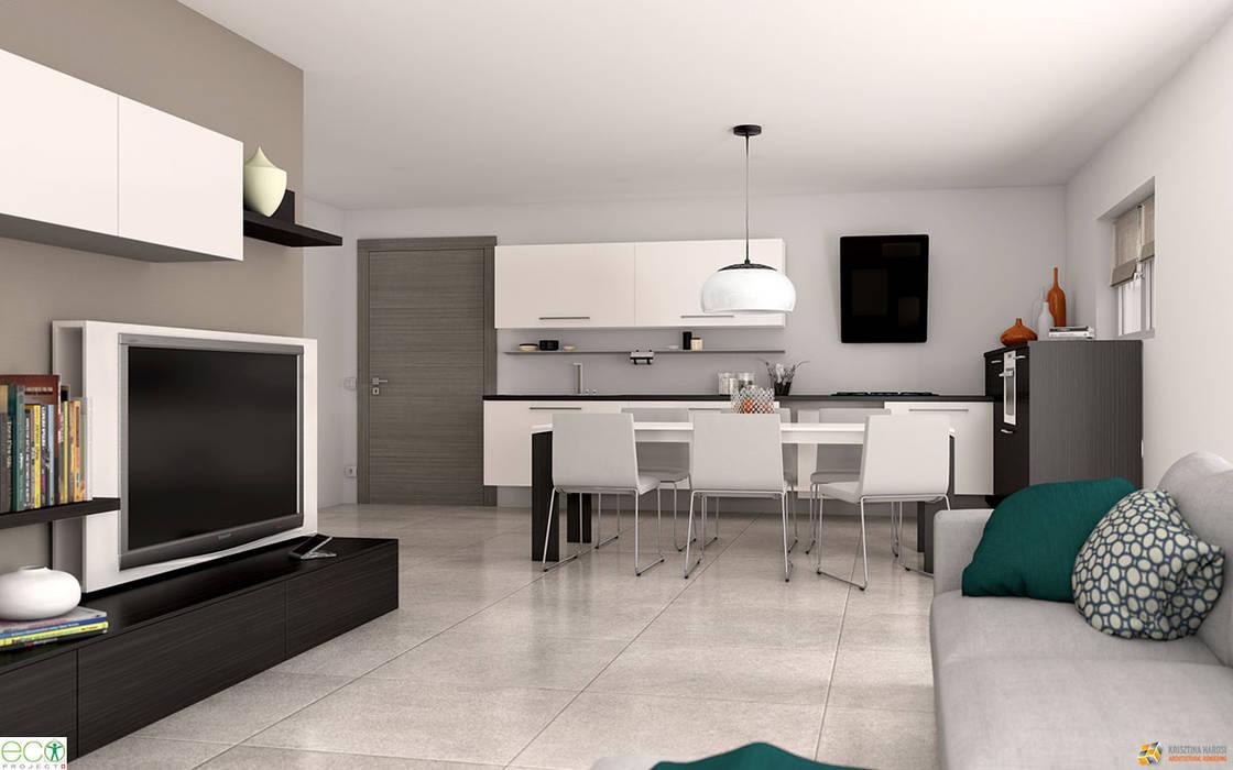 Appartamento – lugano - svizzera: soggiorno in stile di krisztina ...