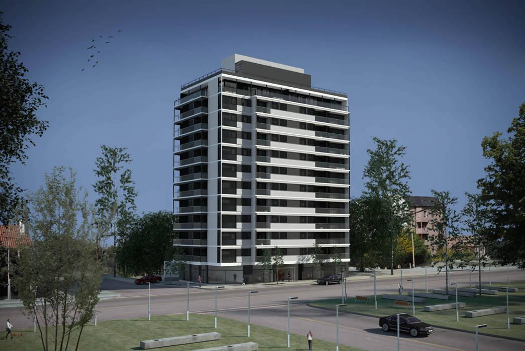 Edificio Gemma 2: Casas de estilo  por Akros S.R.L.,Moderno