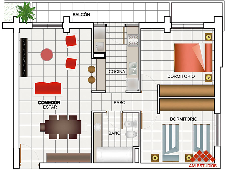ECO EDIFICIO GUAY 1 Edificios de oficinas de estilo moderno de AM Estudios Moderno