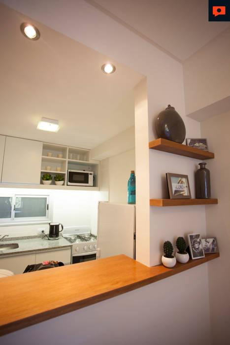 Trabajo para el estudio de Arquitectura LINK Inversiones. Cocinas modernas: Ideas, imágenes y decoración de Sebastian Alcover - Fotografía Moderno