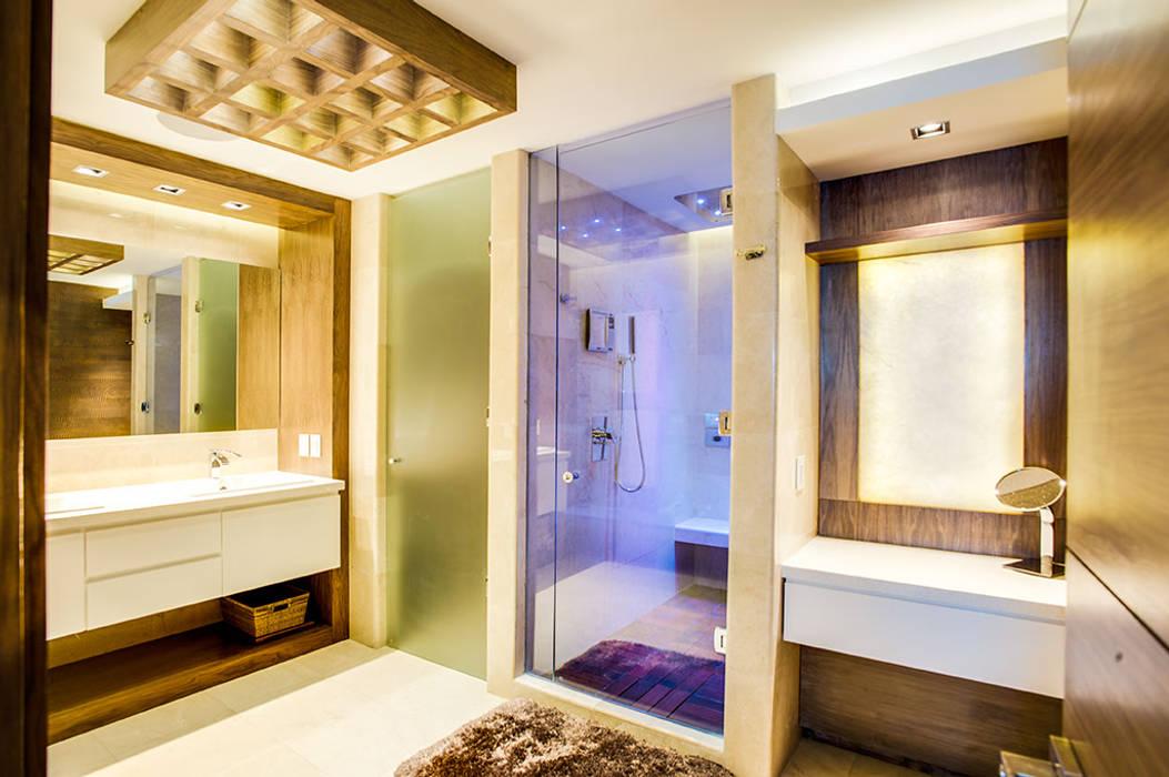 Baños modernos de Art.chitecture, Taller de Arquitectura e Interiorismo 📍 Cancún, México. Moderno
