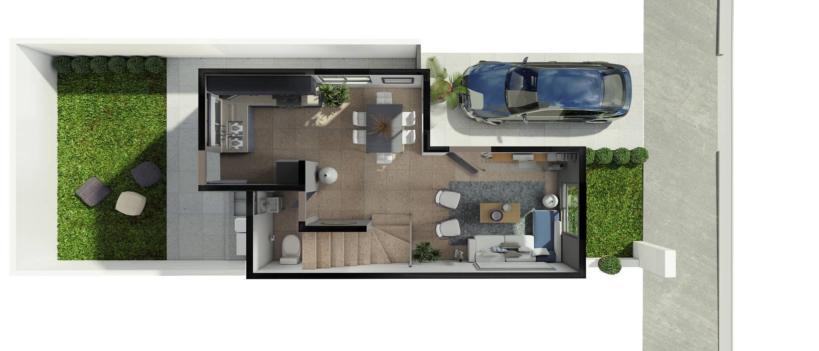 โดย Diez y Nueve Grados Arquitectos