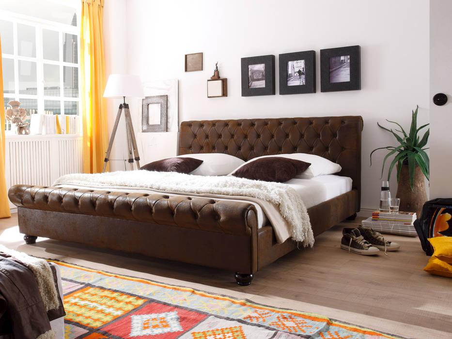 Chesterfield Polsterbett Schlafzimmer Von Massivum Homify