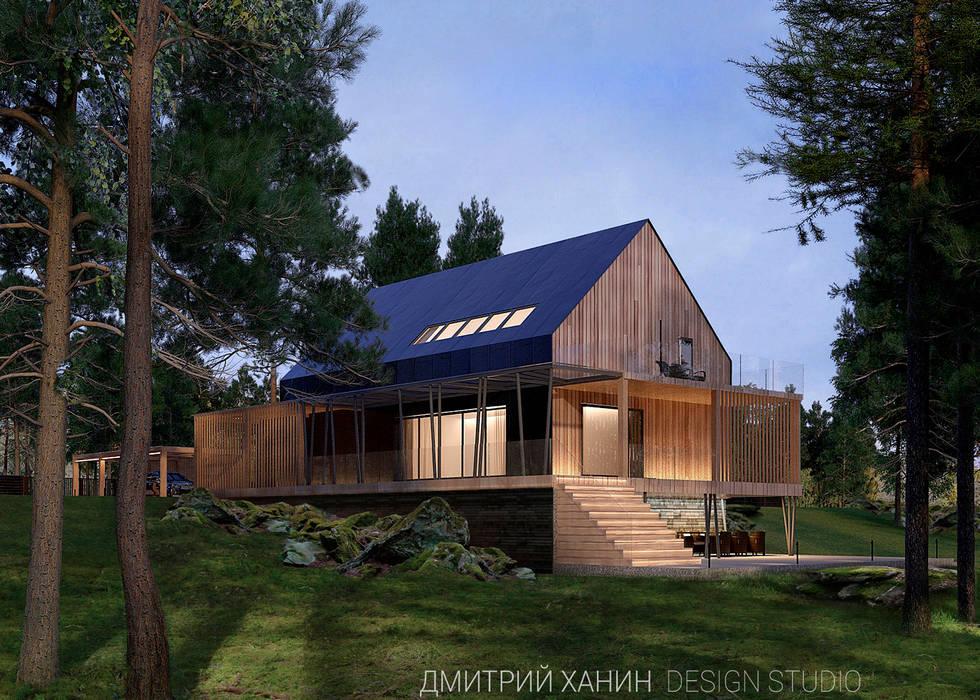 Minimalist house by Dmitriy Khanin Minimalist Wood Wood effect