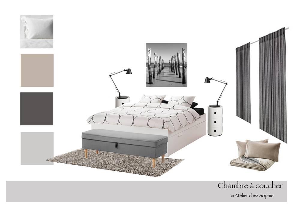 Chambre parentale: Chambre de style de style Scandinave par SO Design