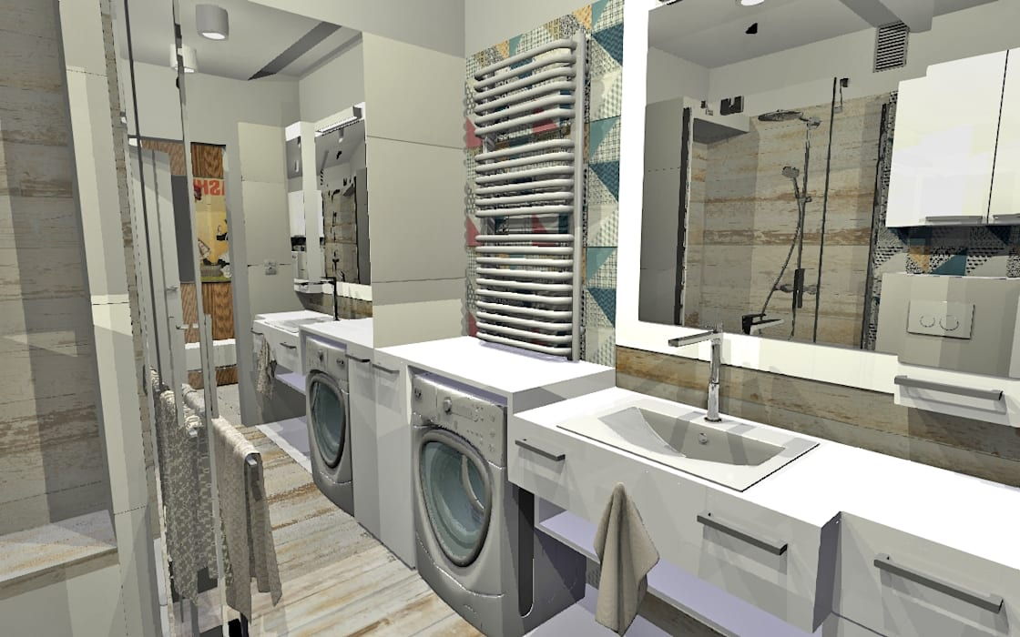 Bathroom by homify, Modern