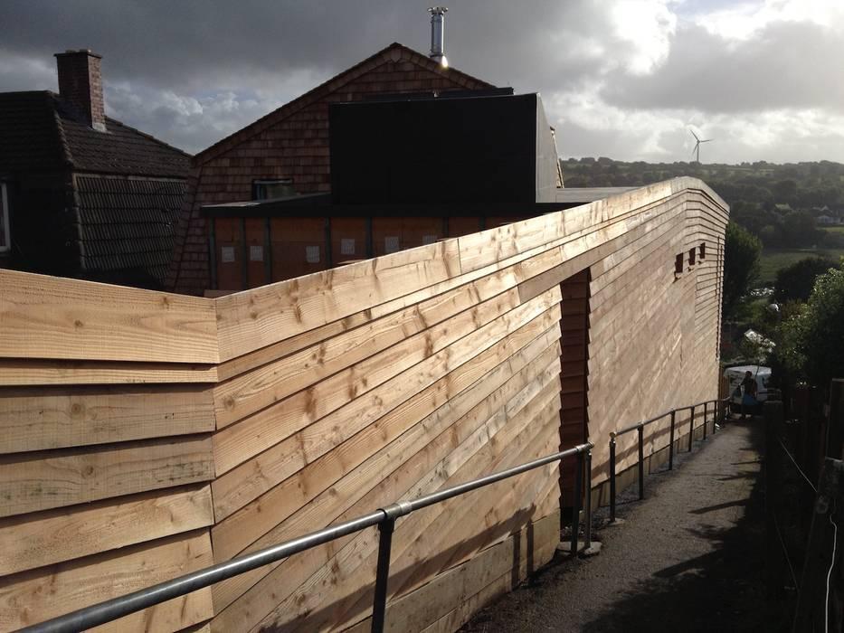 Wadebridge Responsive Home Modern houses by Innes Architects Modern Wood Wood effect