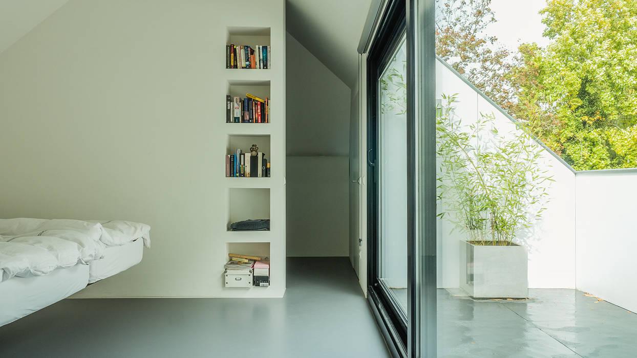 Luxe Slaapkamer Kast : Verbouwing zolder tot luxe slaapkamer met open badkamer