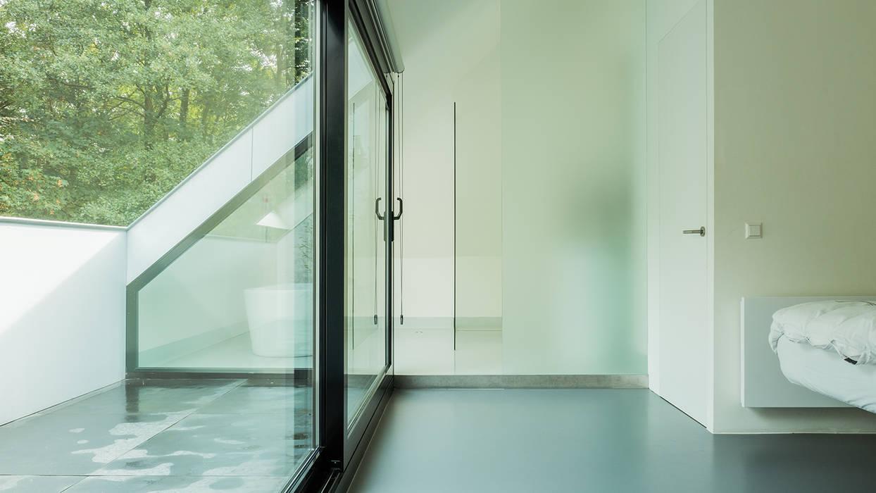 Glas In Slaapkamer : Verbouwing zolder tot luxe slaapkamer met open badkamer studie en
