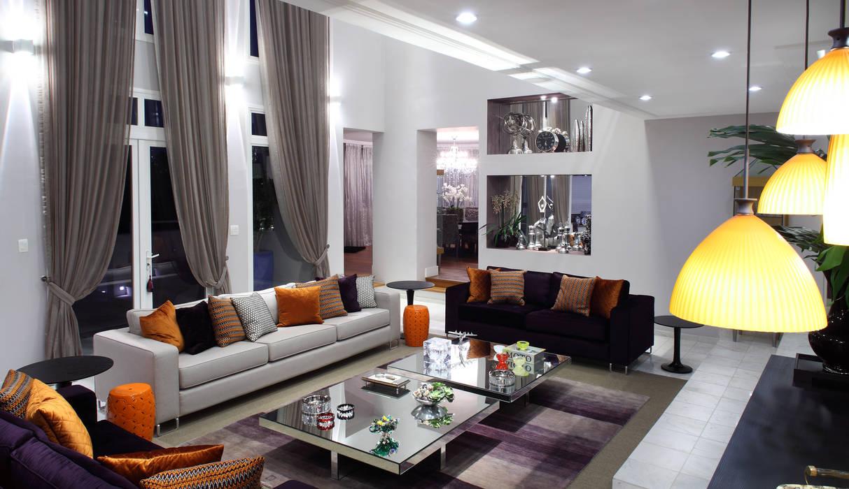 Modern Living Room by Studio 262 - arquitetura interiores paisagismo Modern