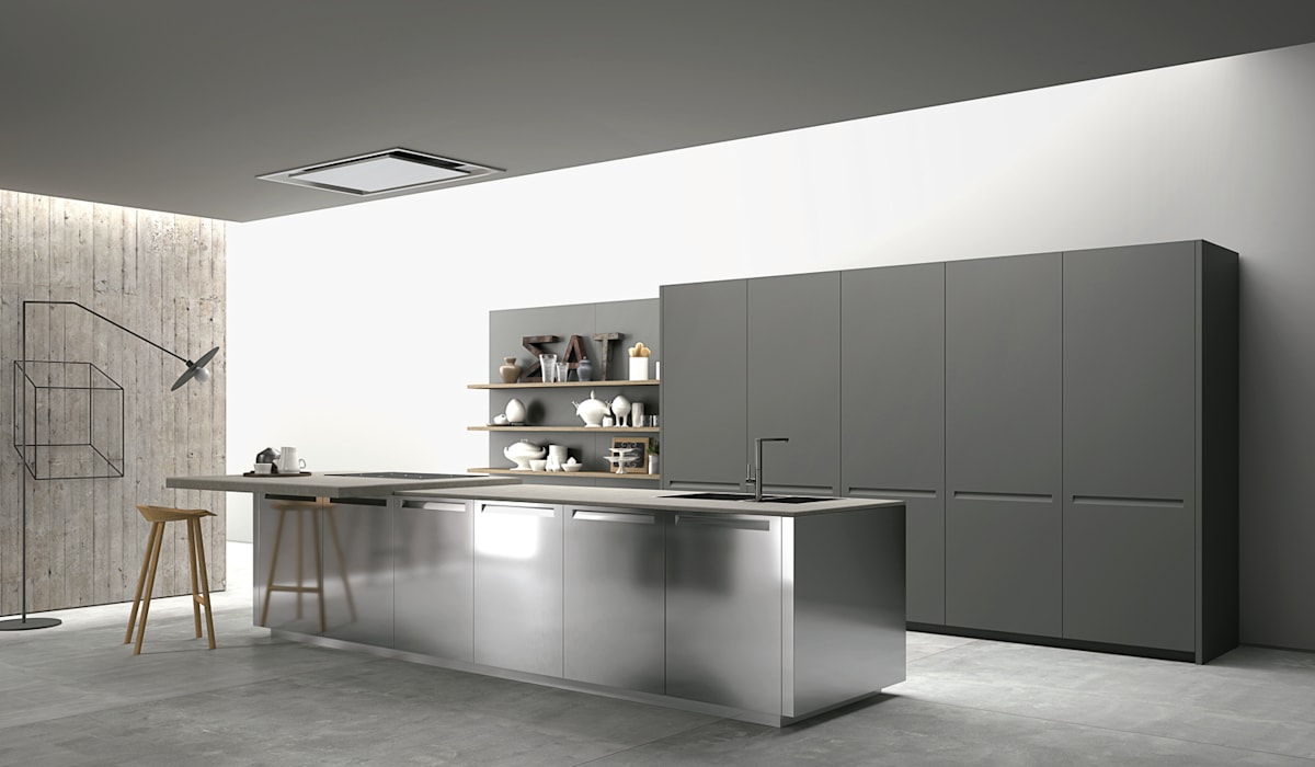 Cozinha Extra da Doimo Cucine: Cozinhas  por Grupo Emme Cozinhas