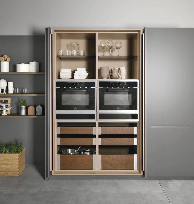 Cozinha Extra da Doimo Cucine Cozinhas modernas por Grupo Emme Cozinhas Moderno