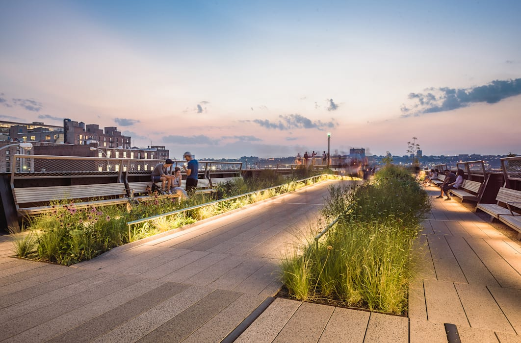 The High Line: Giardino in stile in stile Moderno di Alessio Forlano Architettura e Fotografia