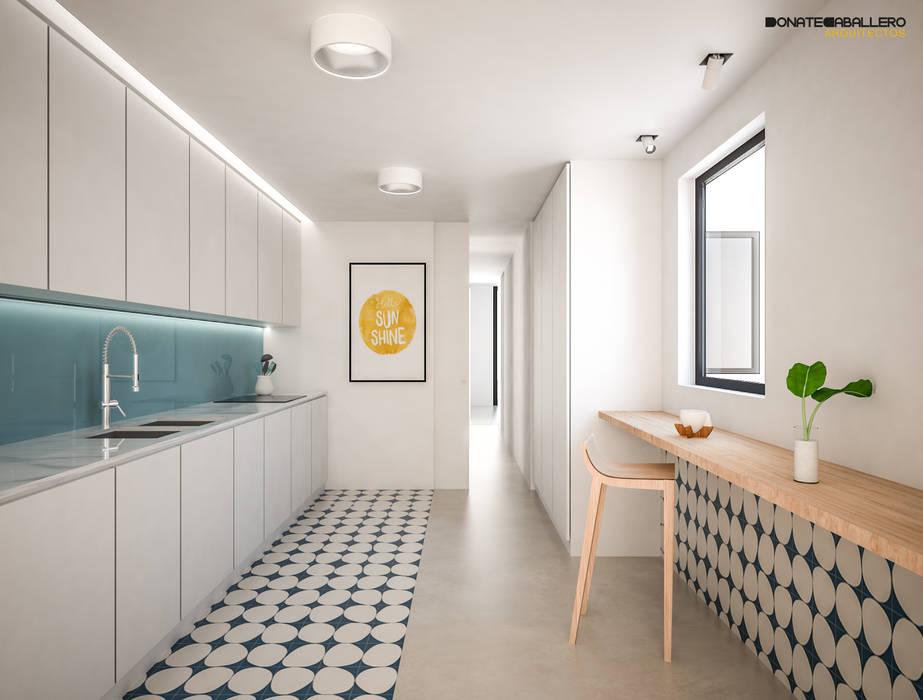 Cocina de DonateCaballero Arquitectos