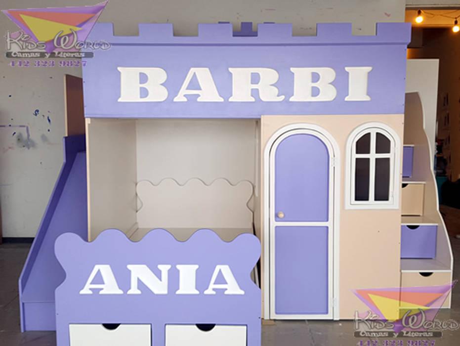 Divertida Y Original Litera Para Niñas Habitaciones Infantiles De