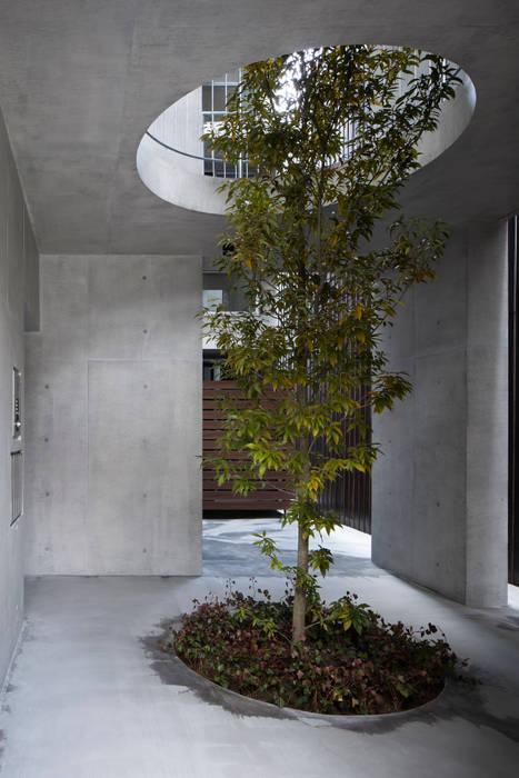 Casa Verde 御所西 株式会社 藤本高志建築設計事務所 モダンな 家 コンクリート 灰色