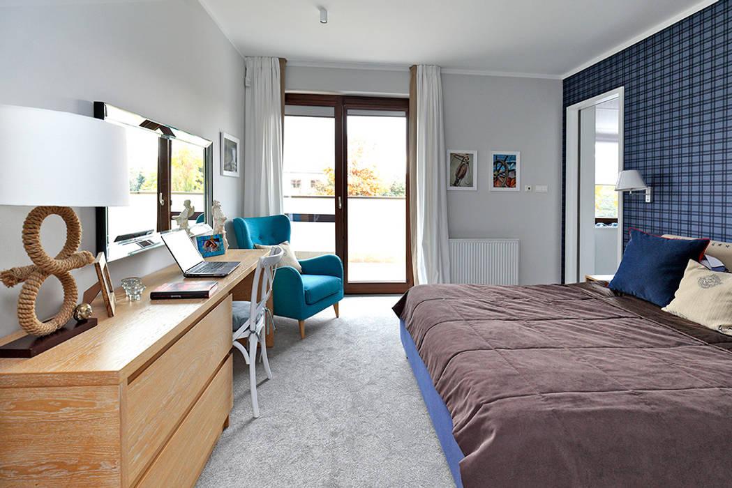 Modern Yatak Odası Marchitektka Modern