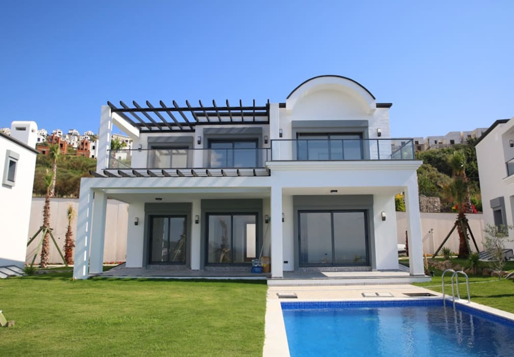 Modern houses by SAYTAS SABUNCUOGLU YAPI VE TIC.LTD.STI. Modern