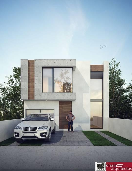 Casas de estilo  por homify, Moderno Ladrillos