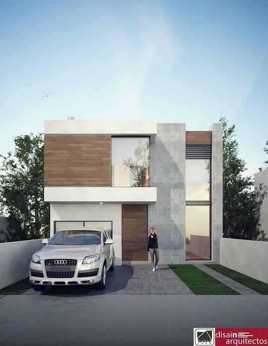 Modelo 2N STIRI: Casas de estilo moderno por disain arquitectos