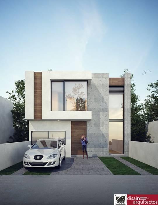 Modelo 2N BELA: Casas de estilo moderno por disain arquitectos