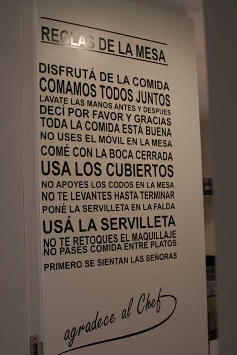 Las reglas de la mesa: Pasillos y recibidores de estilo  por Diseñadora Lucia Casanova
