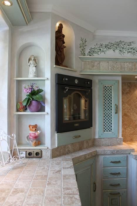 Gemauerte Küche Mit Bogennischen Und Rustikalen Geräten: Küche Von Villa  Medici   Landhauskuechen Aus Aschheim