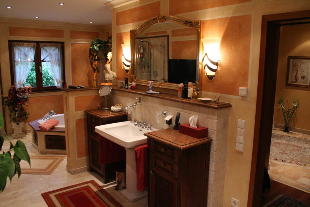 Mediterrane Badezimmer Mobel Aus Eiche Von Villa Medici Badezimmer
